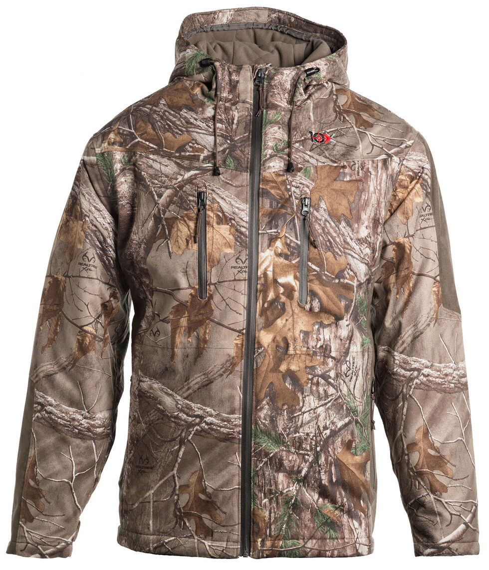 10X Realtree Xtra Silent Quest Lock Down Scentrex Parka, Camouflage, hi-res