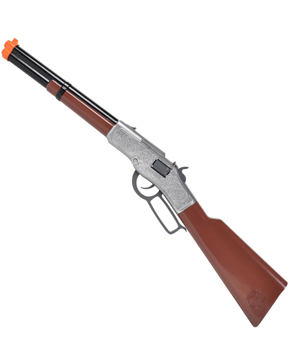 Maxx Action Western Series Big Hoss Cap Rifle, Brown, hi-res
