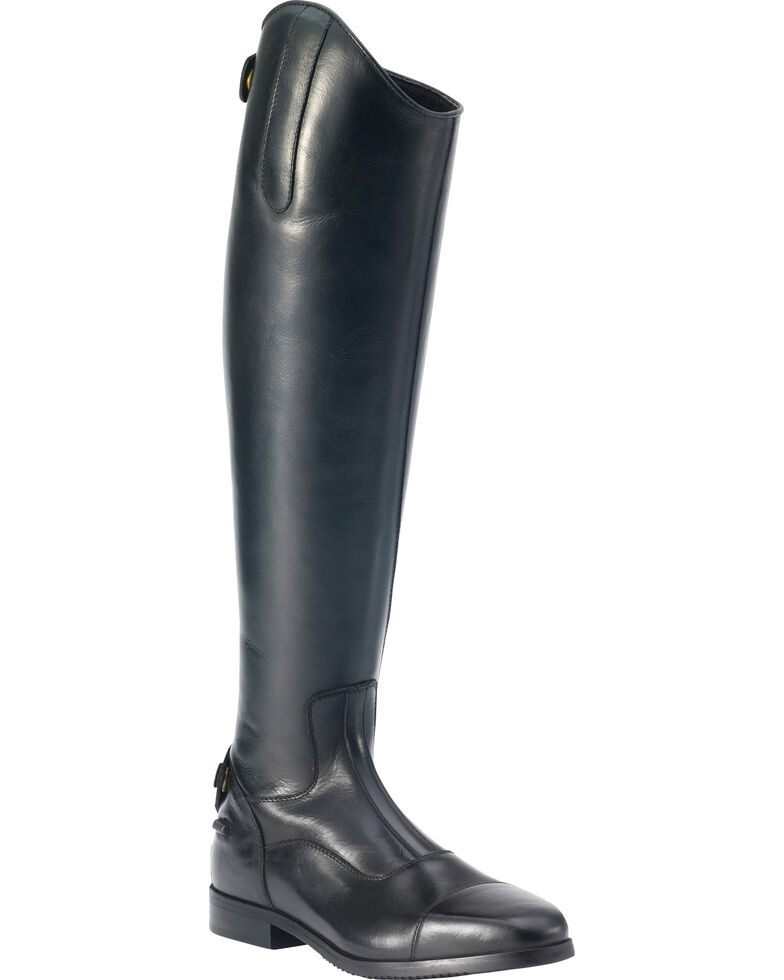 Ovation Women's Olympia Tall Show Boots, Black, hi-res