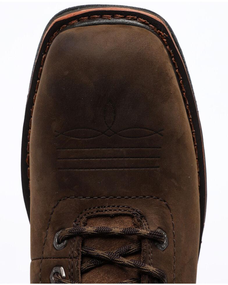 "Ariat Men's Workhog 8"" H2O Work Boots - Composite Toe , Brown, hi-res"