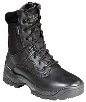 5.11 Tactical Women's A.T.A.C. Storm Boots, Black, hi-res