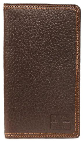 Nocona HDX Triple Stitched Rodeo Wallet, Brown, hi-res
