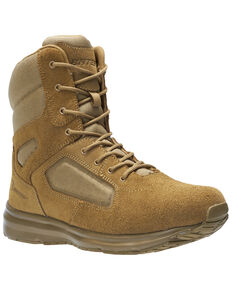 Bates Men's Raide Hot Weather Work Boots - Soft Toe, Tan, hi-res