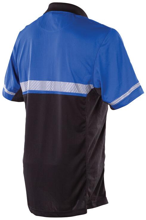 Tru-Spec Men's 24-7 Royal Blue Bike Polo Shirt , Royal, hi-res