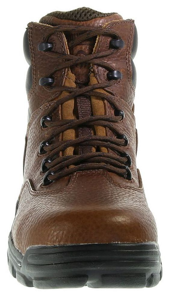 "Wolverine 6"" Guardian CarbonMAX Lace-Up Work Boots - Composite Toe, Brown, hi-res"