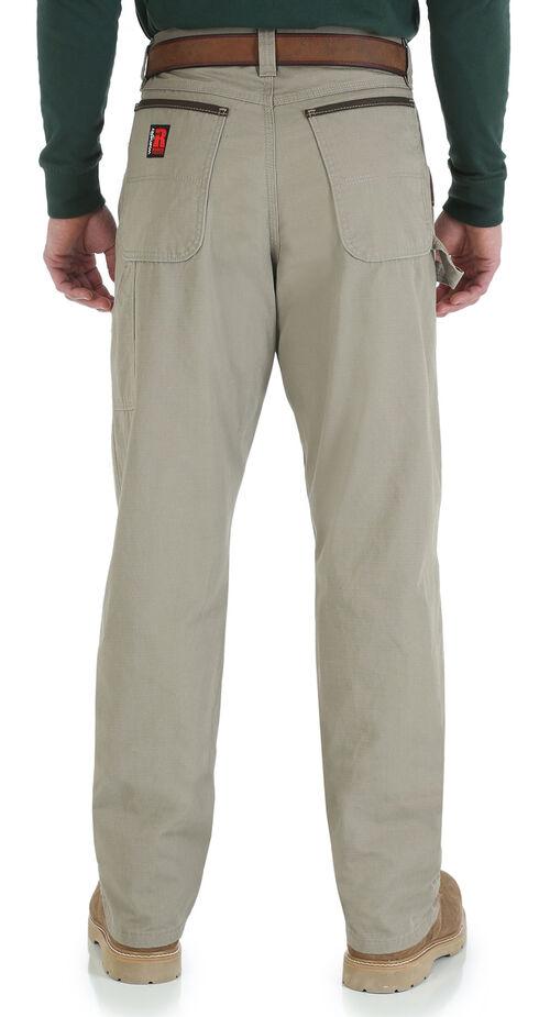 Wrangler Men's Riggs Carpenter Work Jeans, Dark Khaki, hi-res