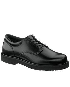 Bates Men's High Shine Duty Oxford Shoes, Black, hi-res