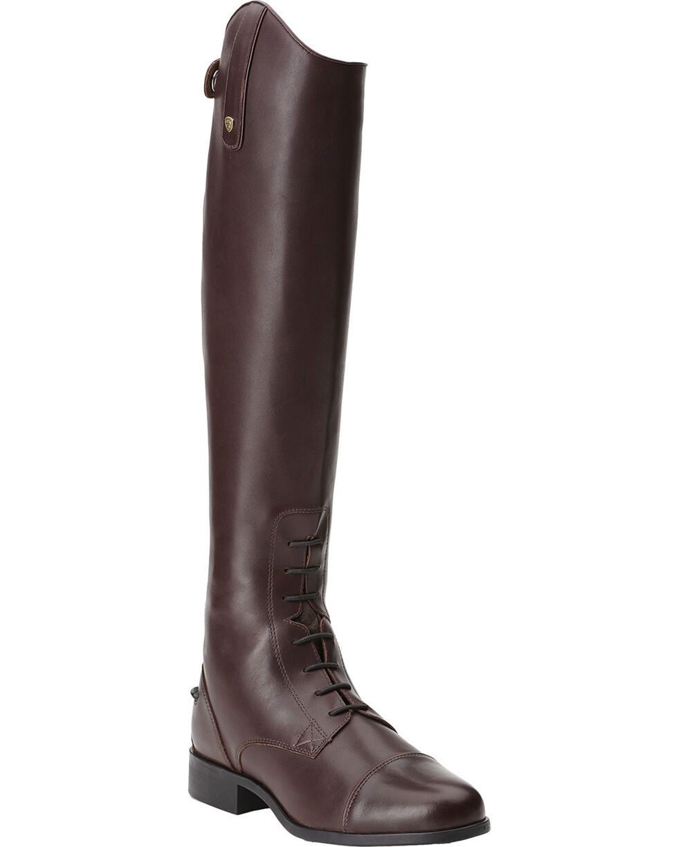 Ariat Women's Heritage Contour Field Zip Riding Boots, Sienna, hi-res