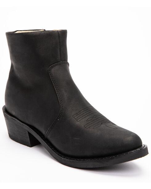 Zipper Boots by Durango, Black, hi-res