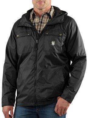 Carhartt Rockford Nylon Jacket - Big & Tall, Black, hi-res