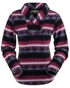 Outback Trading Co. Women's Tory Pullover - Plus, Purple, hi-res
