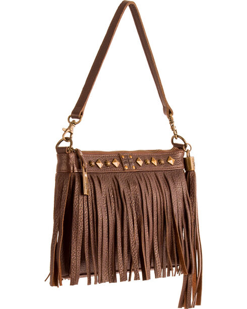 STS Ranchwear Chocolate Dixie Clutch, Chocolate, hi-res