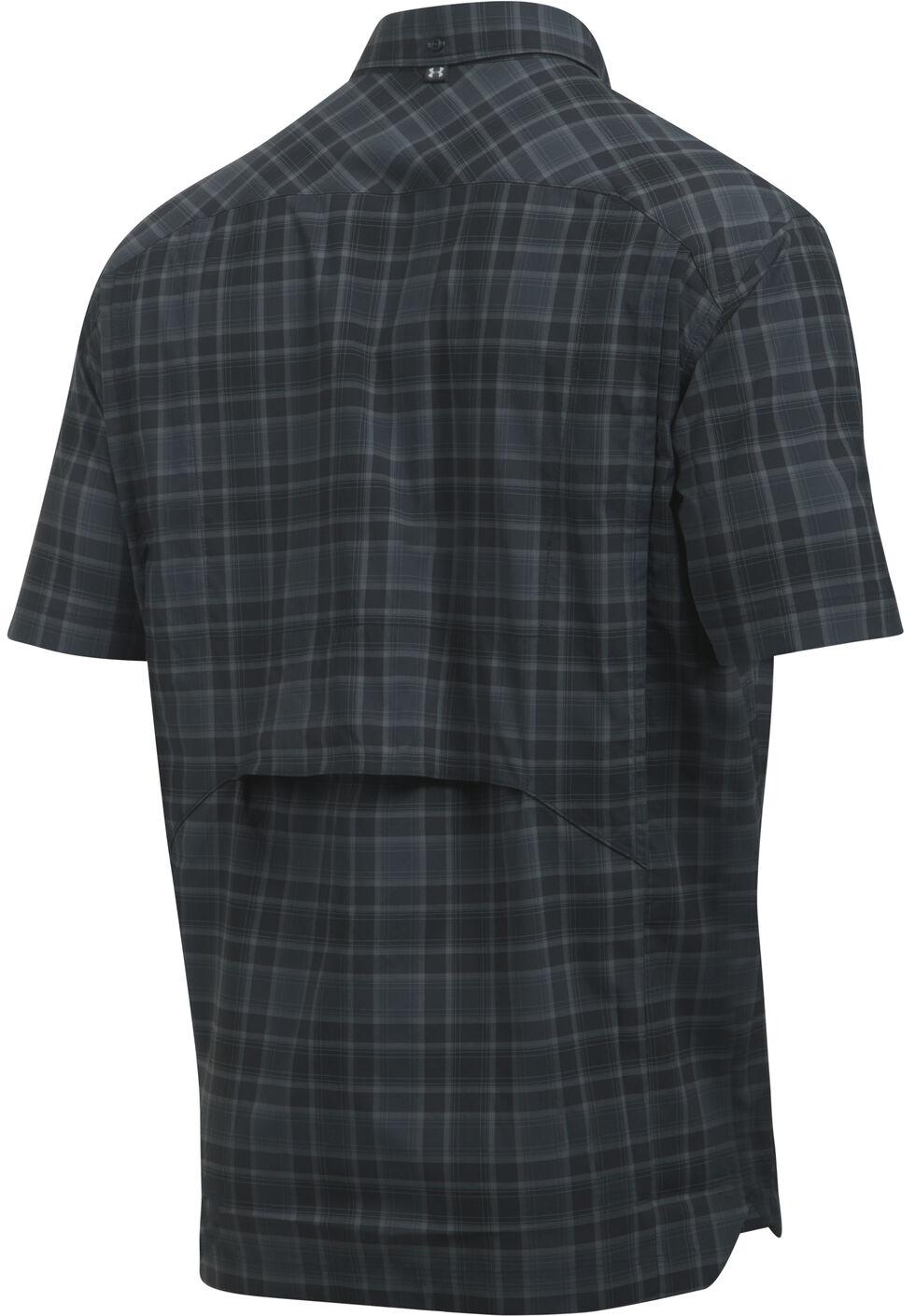 Under Armour Men's Charcoal Grey Fish Hunter Shirt, Charcoal Grey, hi-res