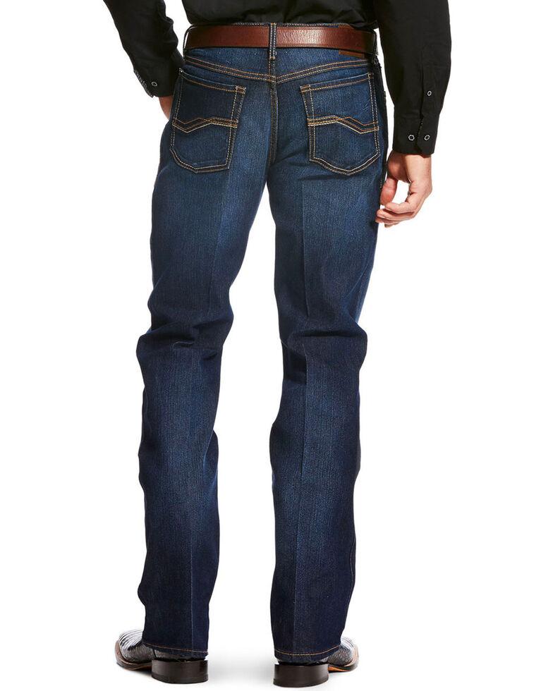 b4f21261de1 Ariat Men's Blue Relentless Relaxed Boot Jeans