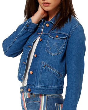 Wrangler Women's 70th Anniversary Retro Denim Jacket, Indigo, hi-res