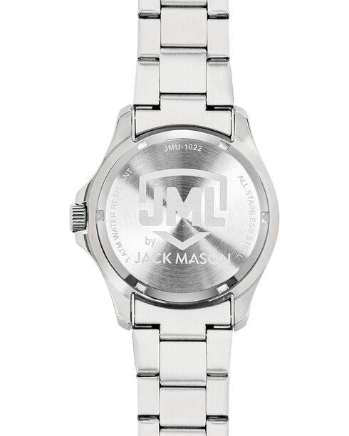 Jack Mason Men's Silver Texas Multi-Function Watch , Silver, hi-res