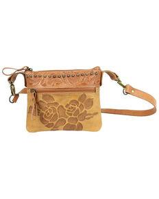 American West Women's Texas Rose Hip Bag, Tan, hi-res