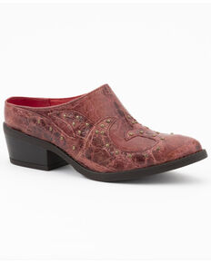 Ferrini Women's Dixie Fashion Booties - Round Toe, Red, hi-res