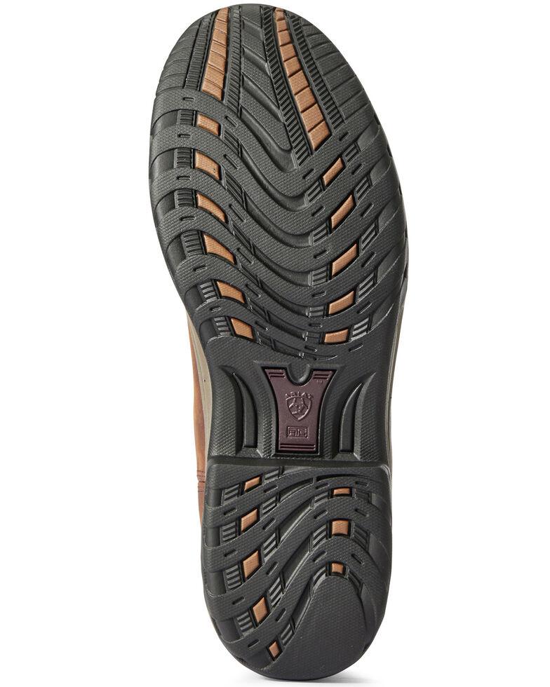 Ariat Women's Terrian Waterproof Western Work Boots - Soft Toe, Brown, hi-res