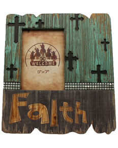 M&F Western Faith Crosses Frame, Multi, hi-res