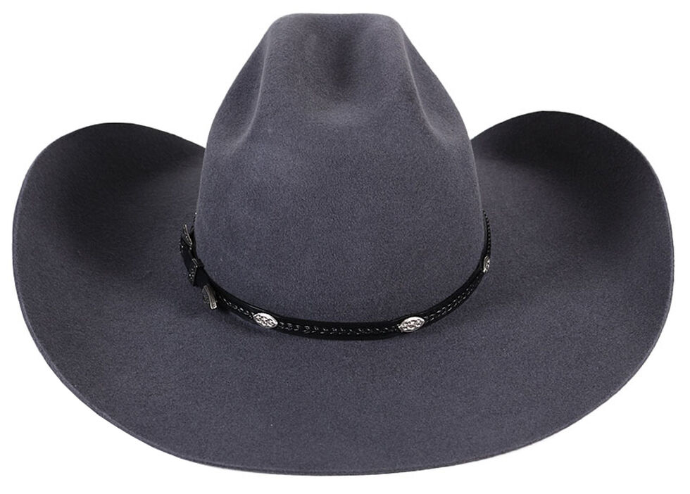 Cody James 3X Longview Wool Felt Cowboy Hat, Grey, hi-res
