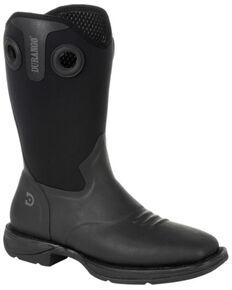 Durango Men's Rebel Rancher Western Work Boots - Square Toe, Black, hi-res