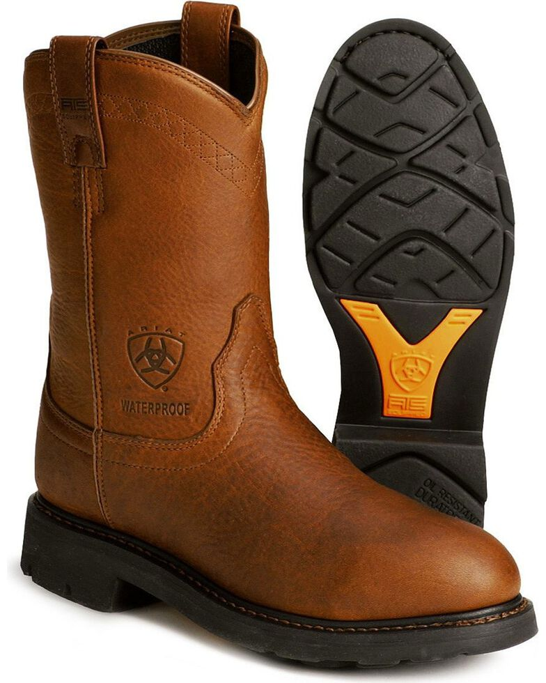 5e1d2a07972 Ariat Sierra H2O Waterproof Work Boots