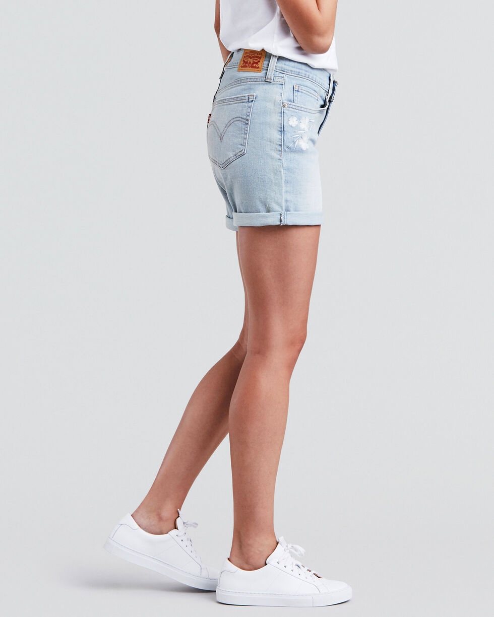 Levi's Women's Misty Waterfall Classic Shorts, Indigo, hi-res