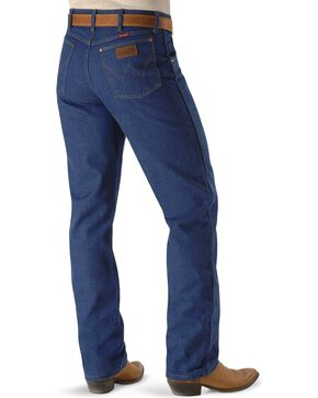 "Wrangler Jeans - 31MWZ Relaxed Fit Prewashed Denim - 38"" Tall Inseam, Indigo, hi-res"