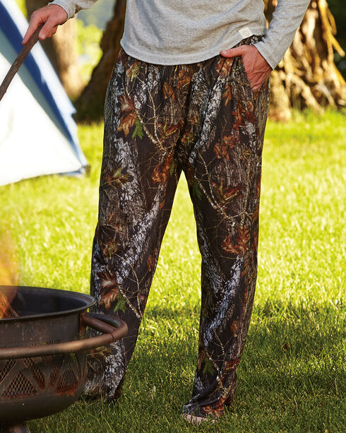 Wilderness Dreams Men's Mossy Oak Break-Up Camo Lounge Pants, Camouflage, hi-res