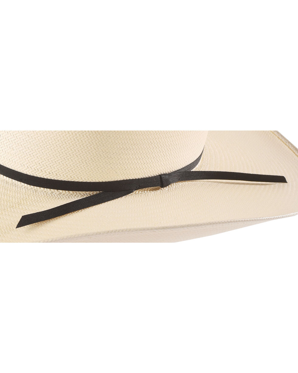 Cody James Men's Natural Straw Woven Vent Cowboy Hat, Natural, hi-res