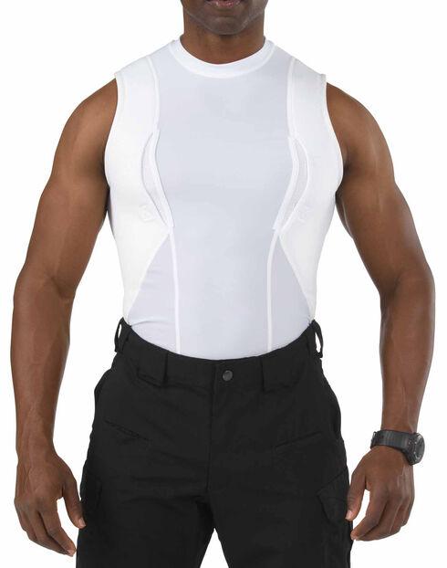 5.11 Tactical Sleeveless Holster Shirt, White, hi-res