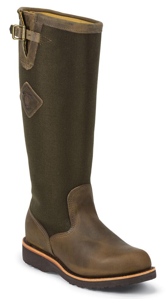 "Chippewa 17"" Snake Boots - Round Toe, Bay Apache, hi-res"
