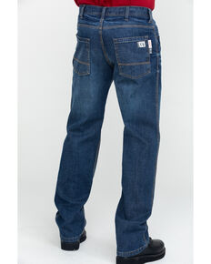 Wolverine Men's FR Dark Stretch Work Jeans , Dark Blue, hi-res