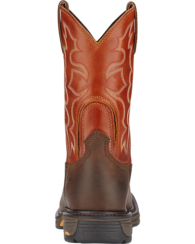 f8e79f097dc Ariat Men's Workhog Western Work Boots - Steel Toe