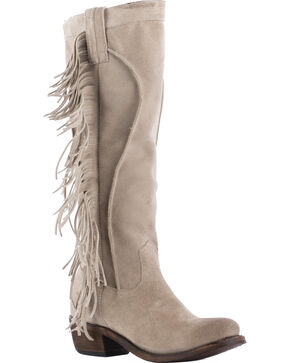 Junk Gypsy by Lane Sand Texas Tumbleweed Boots - Round Toe , Sand, hi-res