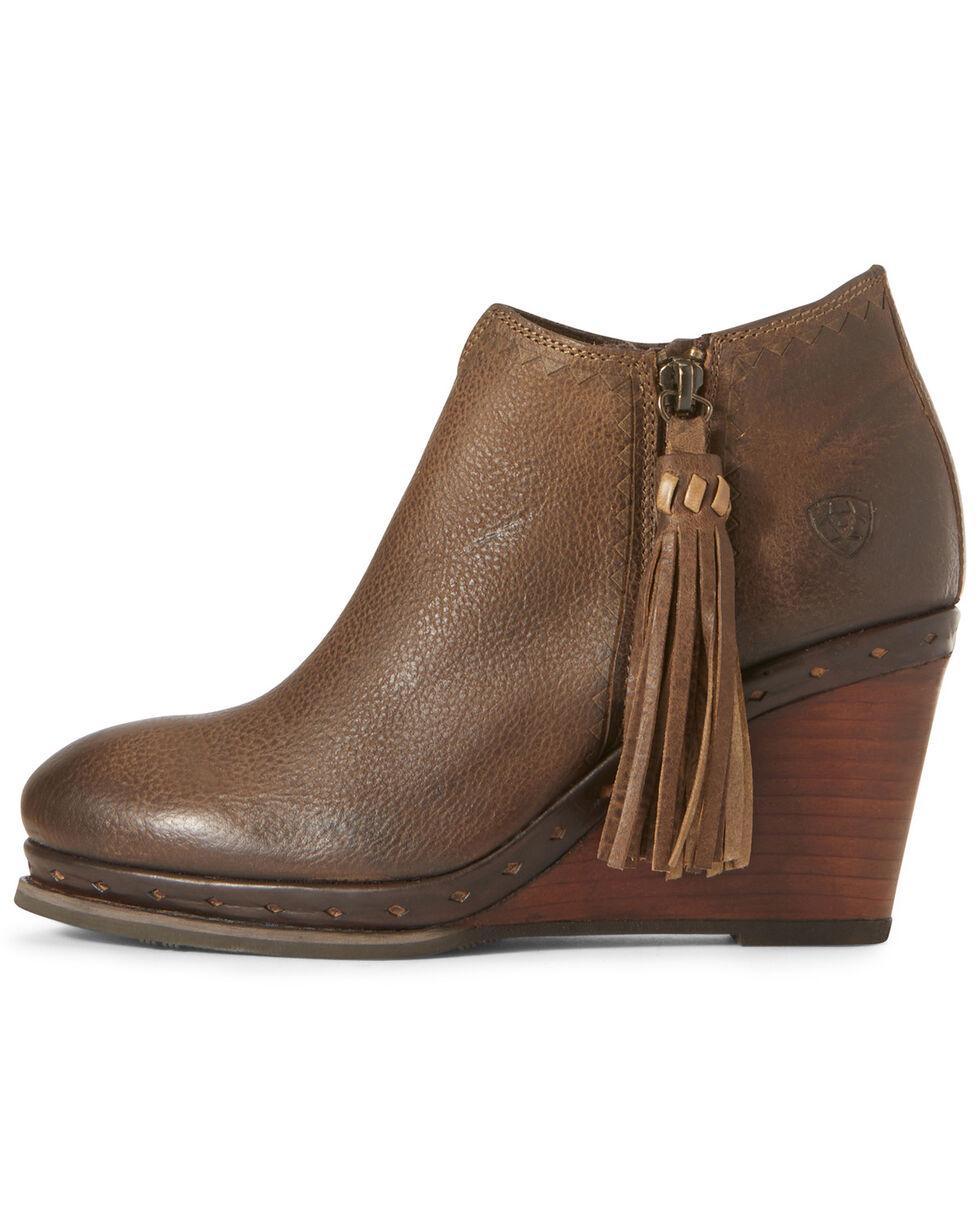 Ariat Women's Graceland Carafe Fashion Booties - Round Toe, Brown, hi-res