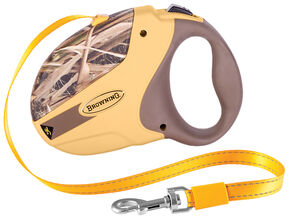 Browning Camouflage Large Retractable Dog Leash , Camouflage, hi-res