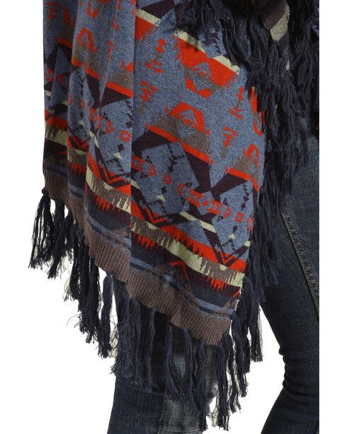 Tasha Polizzi Women's Harvest Blanket Cardigan, Indigo, hi-res
