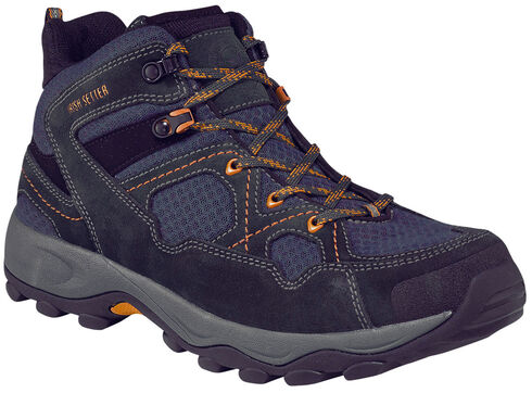 Irish Setter by Red Wing Shoes Men's Afton Hiker EH Work Boots - Soft Toe , Navy, hi-res