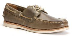 Frye Men's Sully Boat Shoes, Grey, hi-res