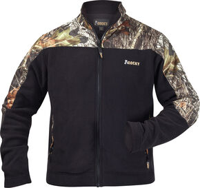 Rocky Casual Lifestyle Camo Fleece Jacket, Blknd Green, hi-res