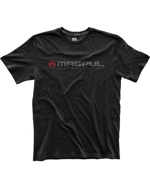 Magpul Men's Fine Cotton Unfair Advantage T-Shirt , Black, hi-res