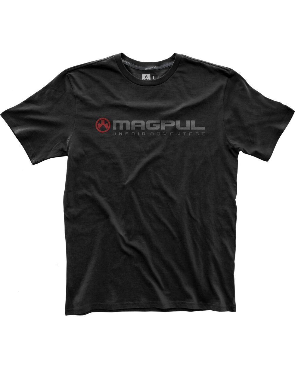 Magpul Men's Fine Cotton Unfair Advantage T-Shirt , Black, hi-res