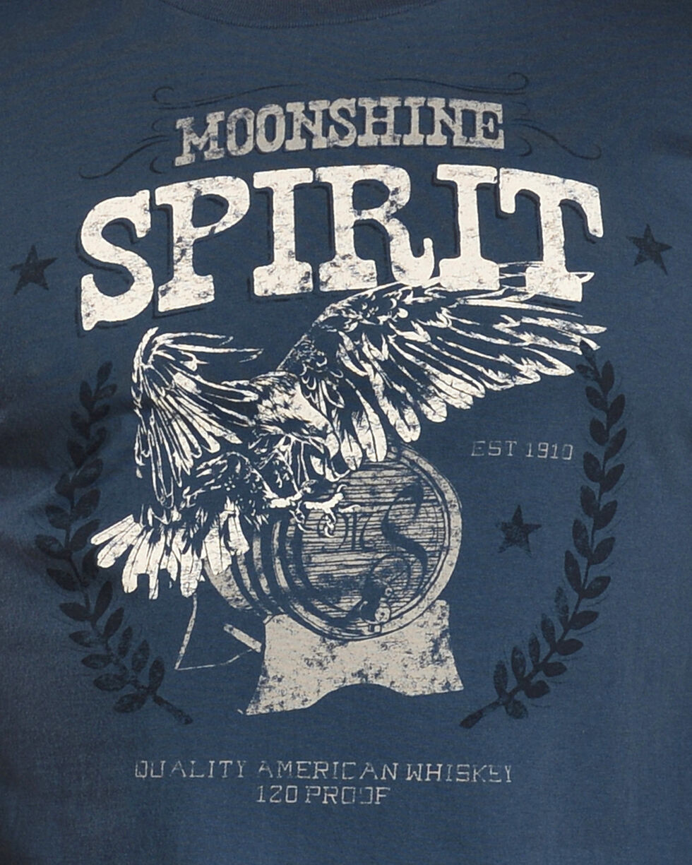 Moonshine Spirit Men's Freedom Tee, Navy, hi-res