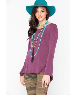 Ariat Women's Gypsy Top Beatroute Shirt , Mauve, hi-res