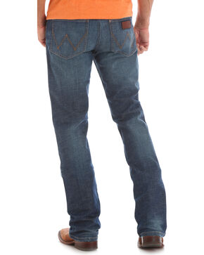 Wrangler Retro Men's Wolf Point Slim Medium Wash Jeans - Boot Cut, Blue, hi-res