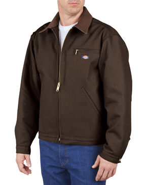 Dickies Blanket Lined Duck Jacket, Chocolate, hi-res