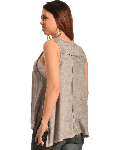 White Crow Women's Buffalo Dream Tank Top, Grey, hi-res