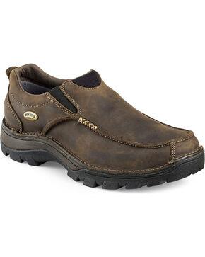 Red Wing Irish Setter Men's Borderland Slip-On Shoes , Brown, hi-res